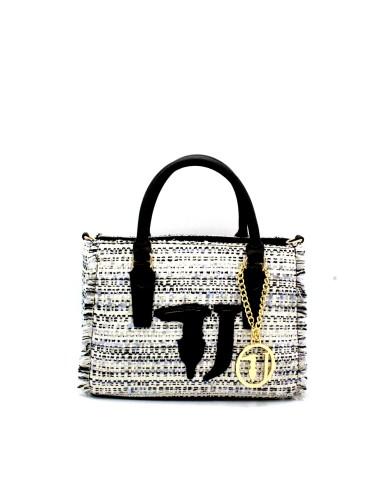 Trussardi Borse Handbag con tracolla Donna Nero Fashion