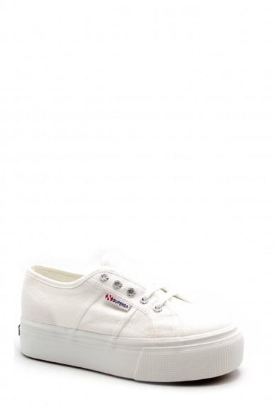 Superga Sneakers F.gomma S0001l0 Donna Bianco Sportivo