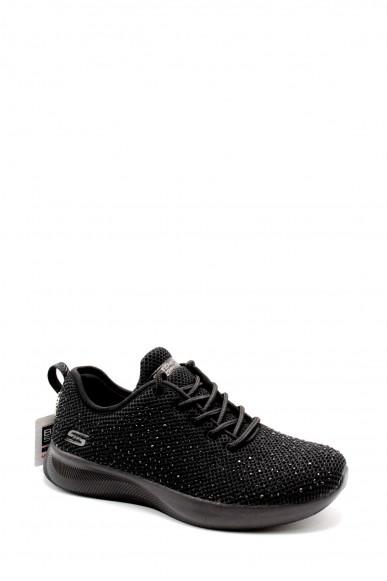 Skechers Sneakers F.gomma 36-41 32505 Donna Nero Casual