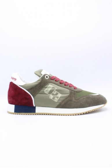 D'acquasparta Sneakers F.gomma 39-44 made in italy Uomo Bordeaux Casual
