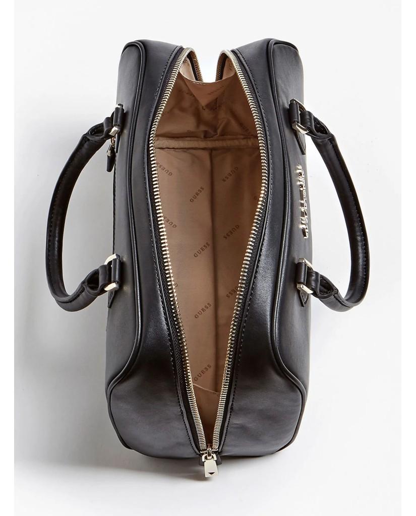 Guess Borse   Calista box satchel Donna Nero Fashion