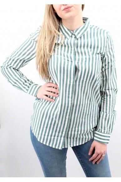Ichi Camicie Donna Verde Casual