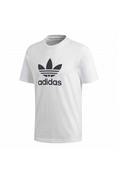 Adidas T-shirt   Trefoil t-shirt     white Uomo Bianco Sportivo