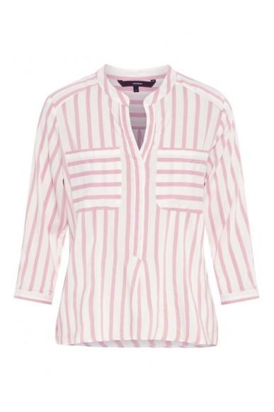 Vero moda Camicie   Vmerika stripe 3/4 shirt e10 noos Donna Bianco Fashion