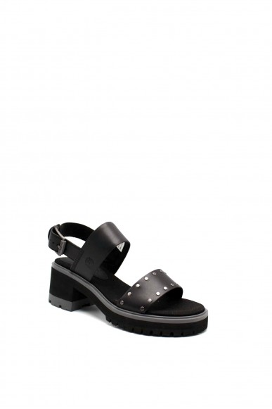 Timberland Sandali F.gomma Violet marsh 2-band sandal Donna Nero Fashion