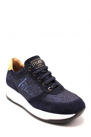 1^classe  Sneakers F.gomma Donna Blu Fashion