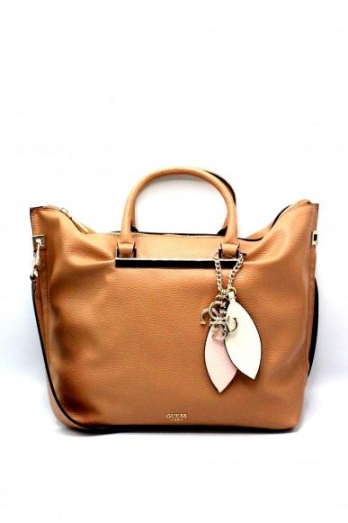 Guess Borse - Lou lou large satchel hwvg69 55070 ss18 Donna Tan Fashion