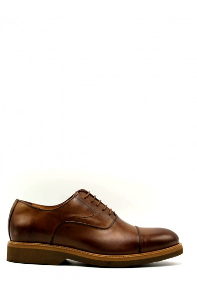 Mercanti fiorentini Stringate F.gomma 40/45 made in italy francesina Uomo Kenia brandy Casual