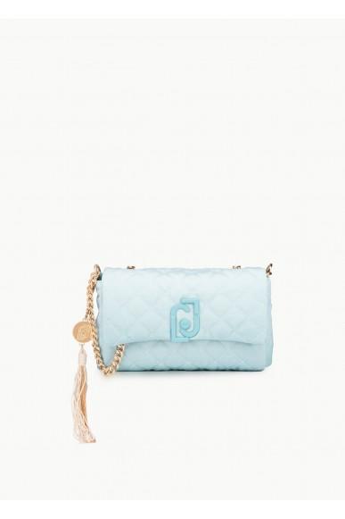 Liu.jo Tracolle Cotone Cross over Donna Blu Fashion