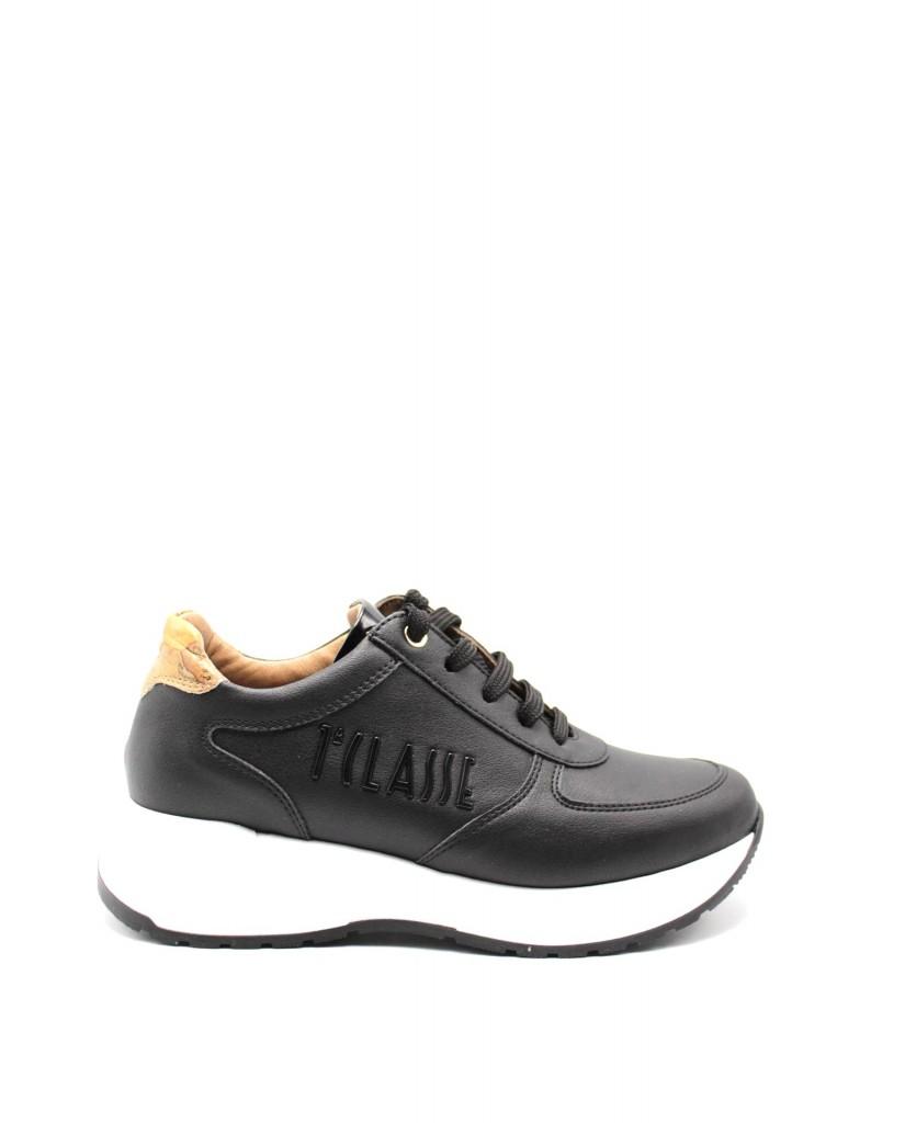 1^classe  Sneakers F.gomma In07260191 Donna Nero Fashion
