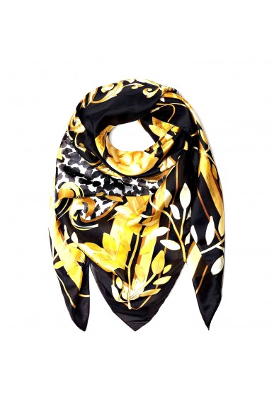 Guess Foulard   Not coordinated silk 120x120 Donna Nero Fashion