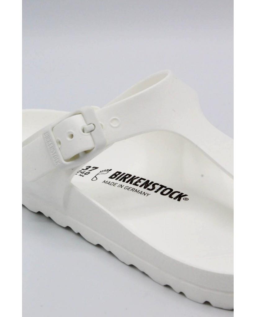 Birkenstock Infradito F.gomma 36/45 Unisex Bianco Classico