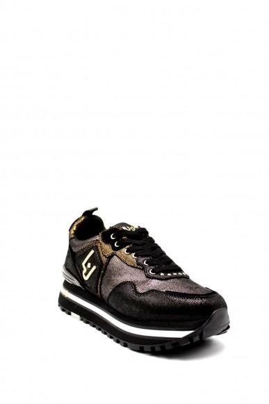 Liu.jo Sneakers F.gomma Liujo wonder maxi 01 Donna Nero Fashion