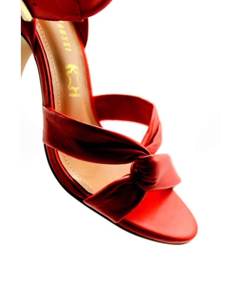 Capelli rossi Sandali 36-41 Donna Rosso