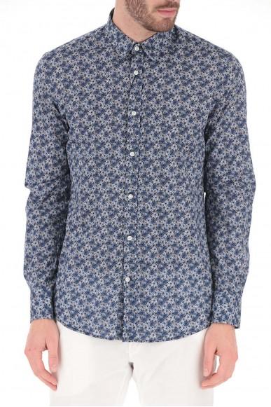 Antony morato Camicie   Camicia ml.abbottonatura  a vi Uomo Blu Fashion