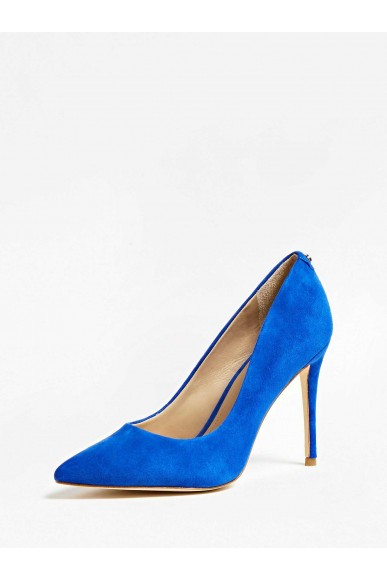 Guess Decollete   Belan decollete (pump) suede Donna Blu Fashion