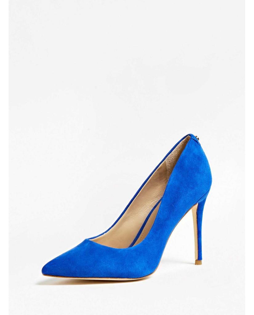 Guess Decollete   Belan decollete (pump) suede Donna Blu Fashion