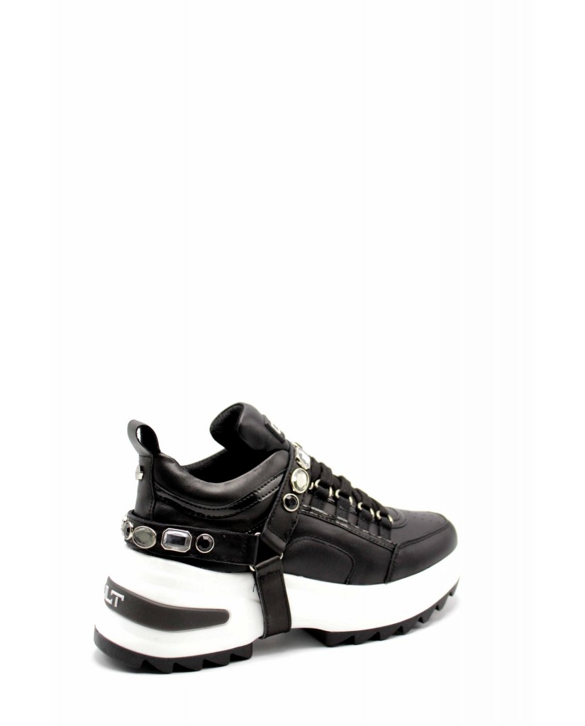 Cult Sneakers F.gomma Cle104005 Donna Nero Fashion