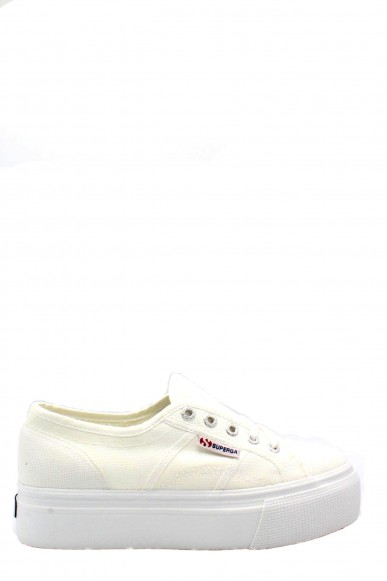 Superga Sneakers F.gomma 35/41 linea up and down Donna Bianco Sportivo