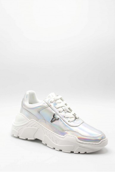 Windsor smith Sneakers F.gomma 36-41 carte Donna Bianco Fashion
