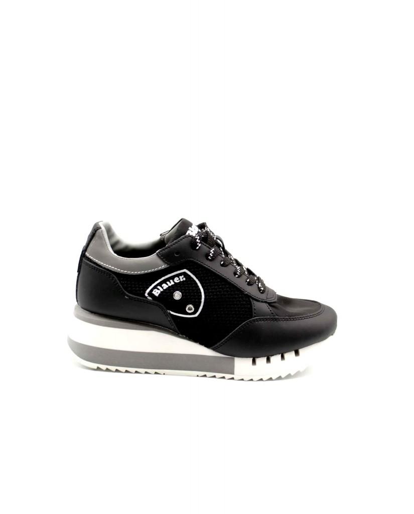 Blauer Sneakers F.gomma Charlotte05 Donna Nero Fashion