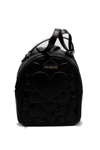 Moschino Backpacks - Zainetto love 2018 jc4058pp15 Donna Nero Fashion