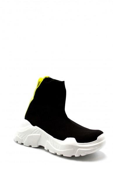 Pyrex Sneakers F.gomma 36/41 py020222 Donna Nero-giallo Fashion