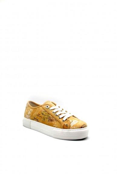 1^classe  Sneakers F.gomma 0870 Donna Beige Fashion