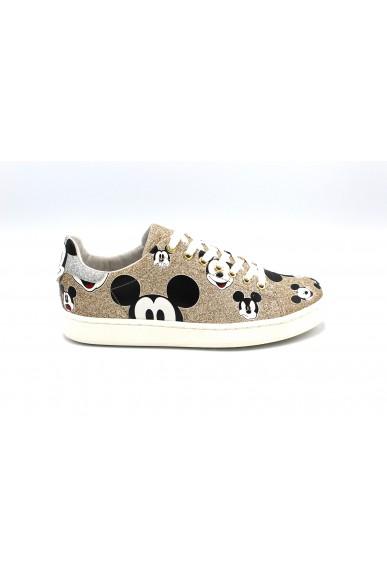 Moa Sneakers F.gomma Donna Oro Fashion