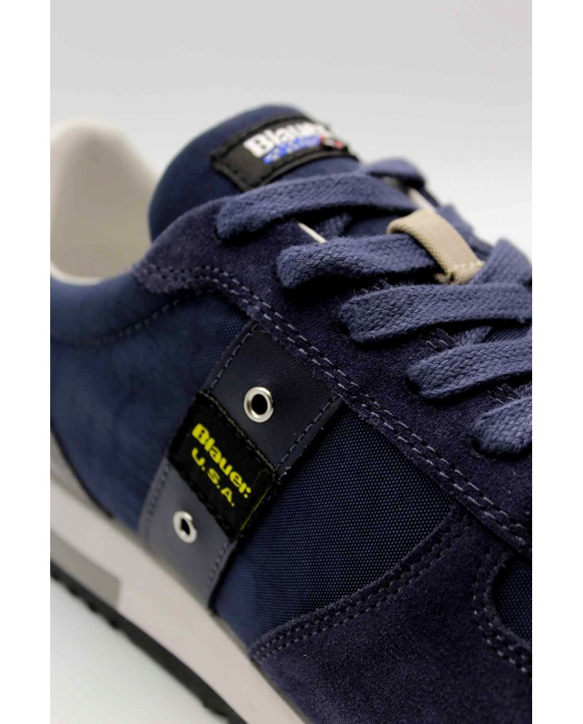 Blauer Sneakers F.gomma Quincy01 Uomo Blu Fashion