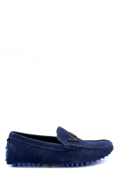 Versace jeans Mocassini F.gomma 40-45 Uomo Blu Casual