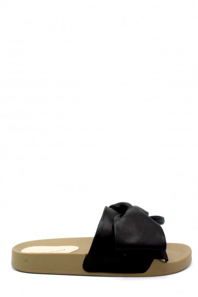 Silvian each Ciabatte F.gomma 36/41 rcp18112 slippers shoes barriors Donna Nero Fashion