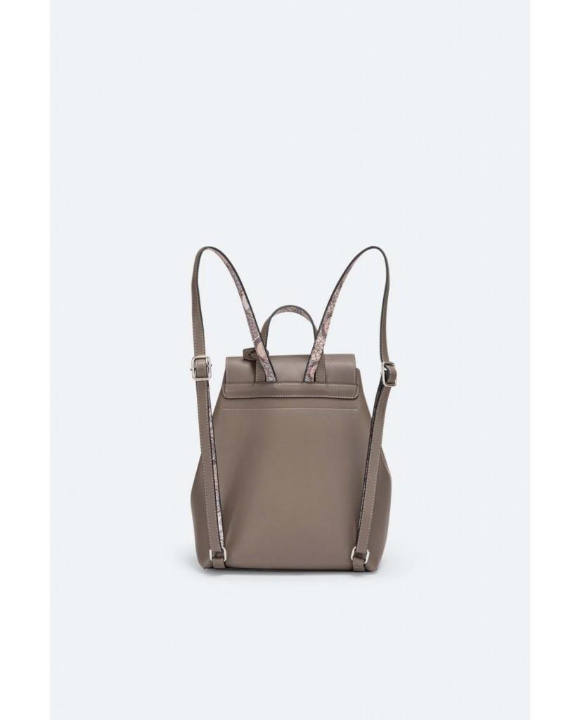 Gattinoni Backpacks   Denise backpack pu/pvc taupe Donna Taupe Fashion