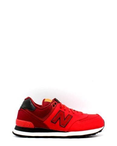 New balance Sneakers F.gomma 39-46 ml 574 Uomo Rosso Sportivo