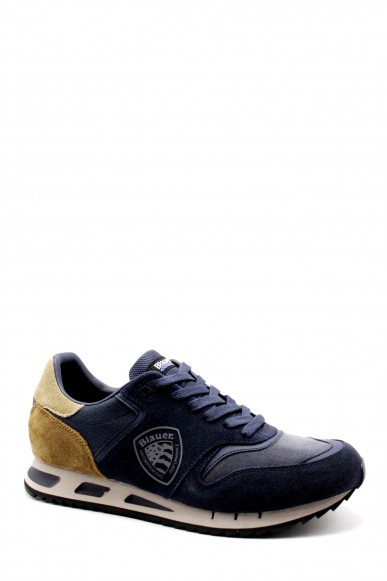 Blauer Sneakers   Memphis06 Uomo Blu Fashion