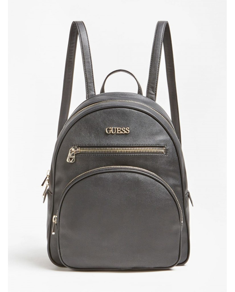 Guess Backpacks   New vibe large backpack Donna Nero Fashion