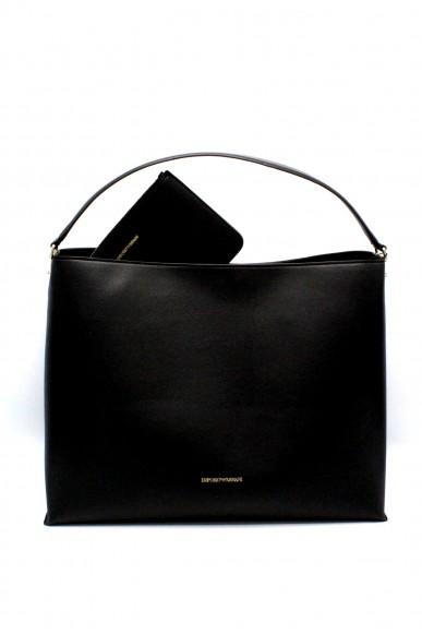Emporio armani Borse - Hobobag y3e081 yh23a Donna Nero Fashion