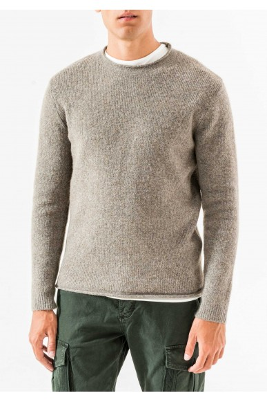 Antony morato Maglie   Knitted sweater Uomo Marrone