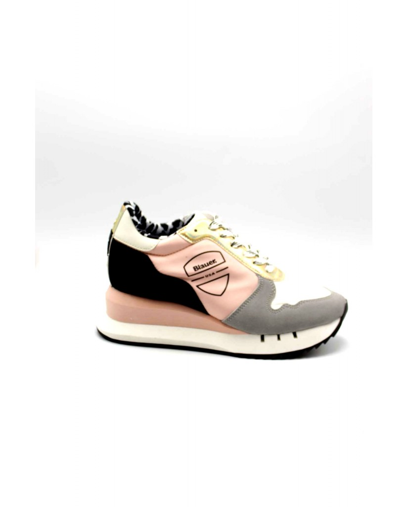 Blauer Sneakers F.gomma Casey01 Donna Rosa Fashion