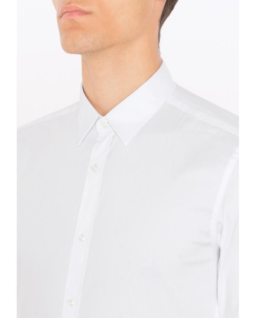 Antony morato Camicie   Camicia basica abbottonatura a Uomo Bianco