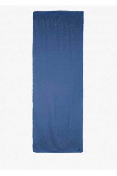 Liu.jo Stole - Foulard 120x120 Donna Blu Fashion