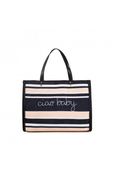 Tosca blu Borse   Shopping ciao baby tosca blu Donna Bianco/nero Casual