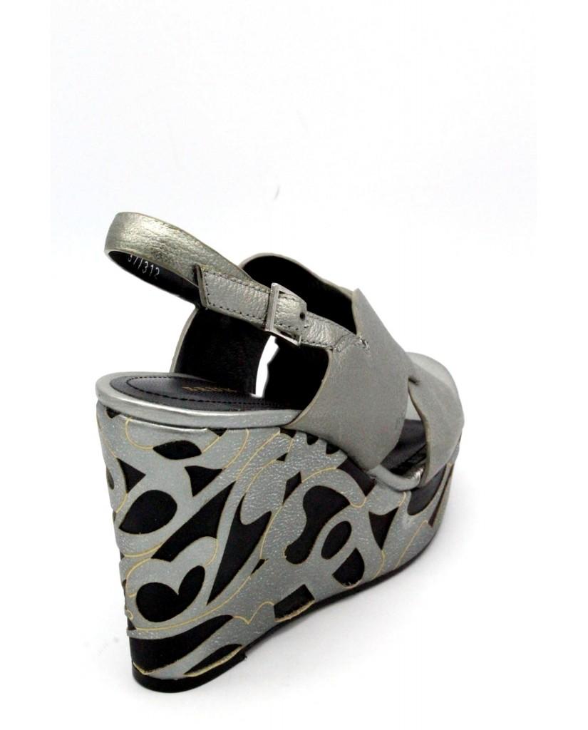 Bruno premi Sandali F.gomma 35/41 r6301n made in italy Donna Acciaio Fashion
