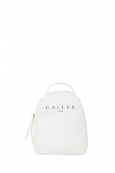 Gaelle paris Backpacks   Zainetto+stampa Donna Bianco Fashion