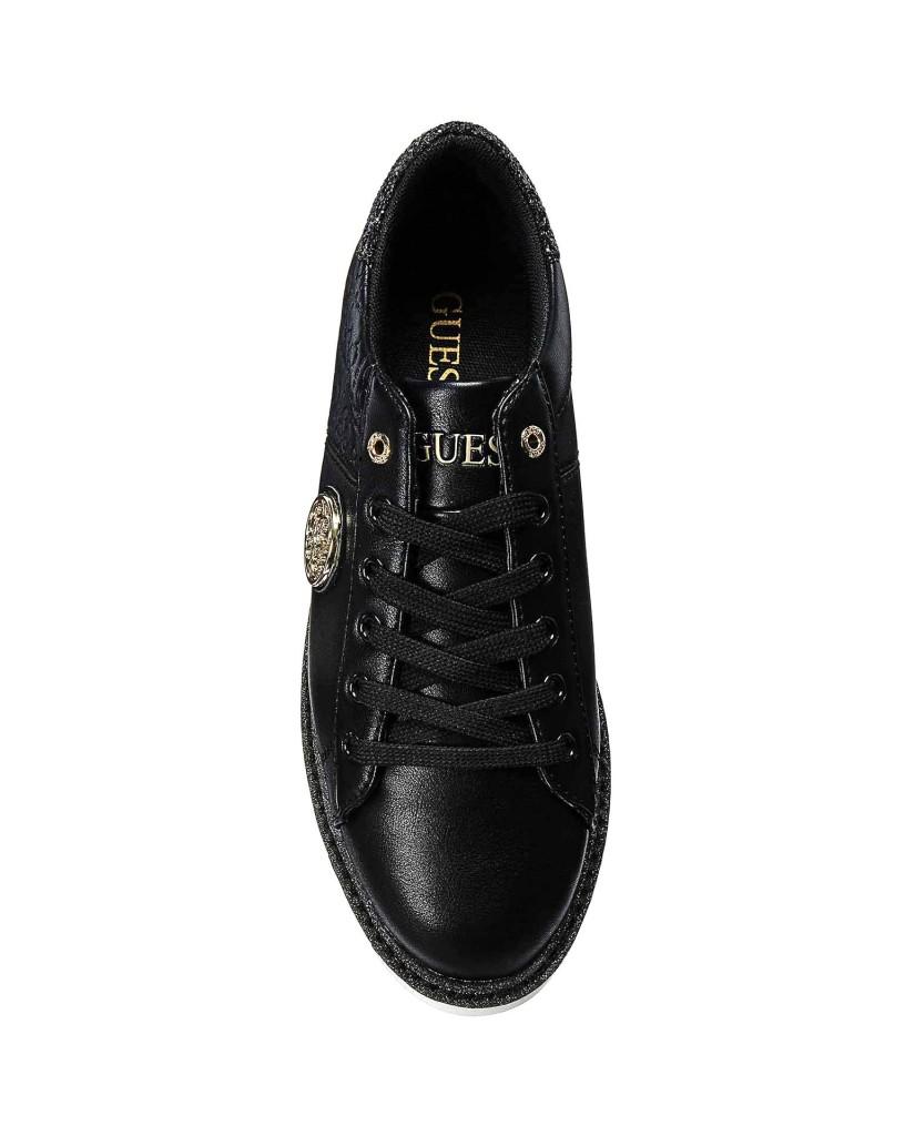 Guess Sneakers F.gomma Debora Donna Nero Fashion