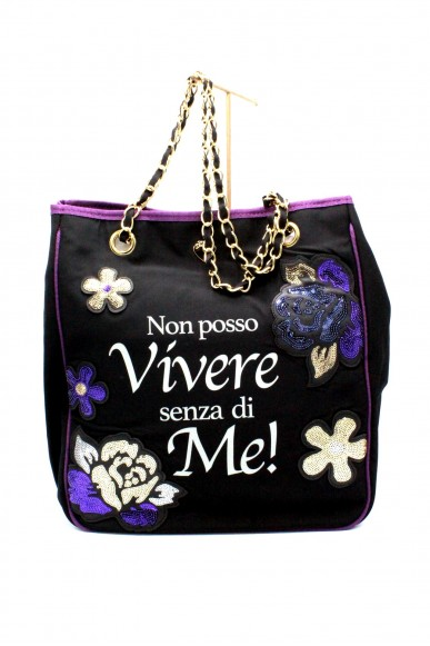 Le pandorine Borse - Nylon bag vivere Donna Black Fashion