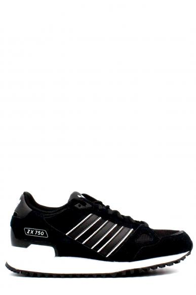 Adidas Sneakers F.gomma 39/46 zx750 Uomo Nero-bia Sportivo