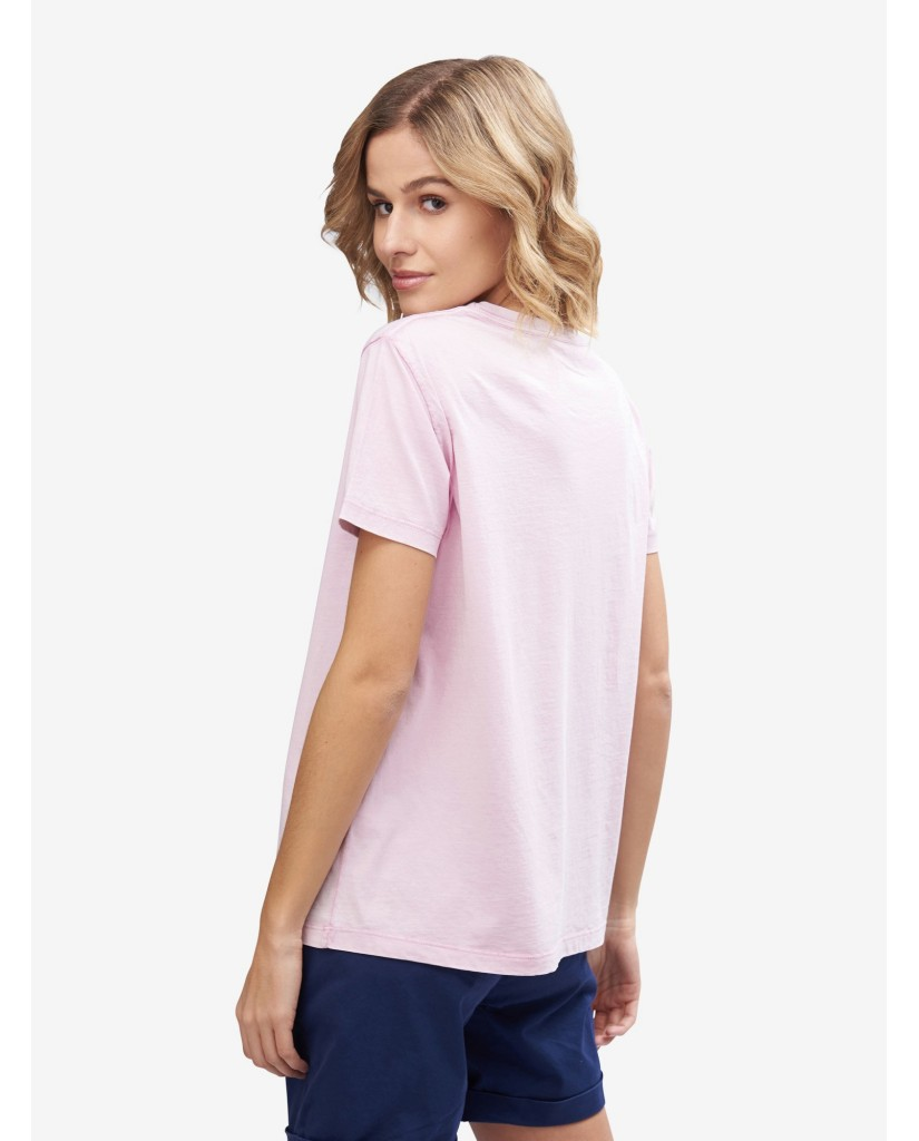 Blauer T-shirt   T-shirt manica corta Donna Rosa Fashion