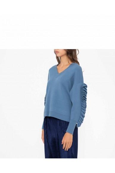 Silvian each Maglioni   Sweater quereco Donna Blu