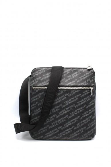 Emporio armani Tracolle - Tracolla logata y4m184 ylo7e Uomo Lavagna/nero Fashion
